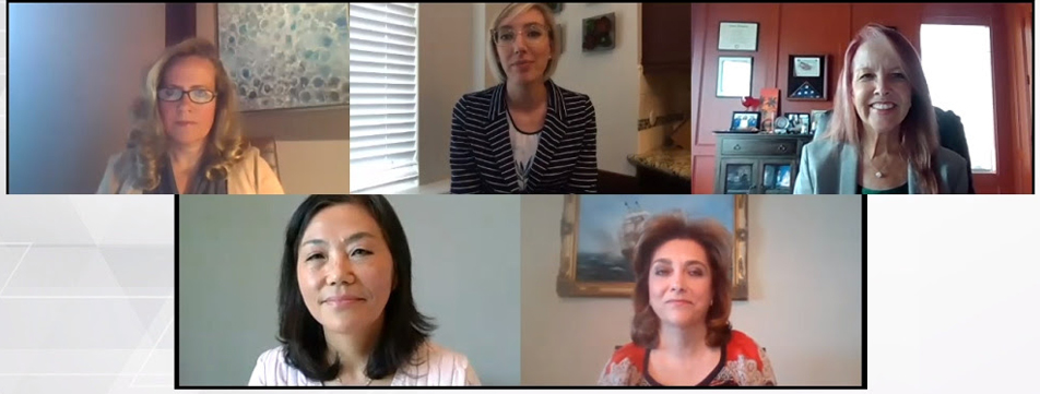 Leaders from Deloitte, EY, KPMG, PwC on zoom call